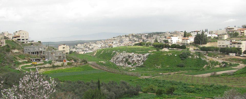 Modern city of Nazareth.