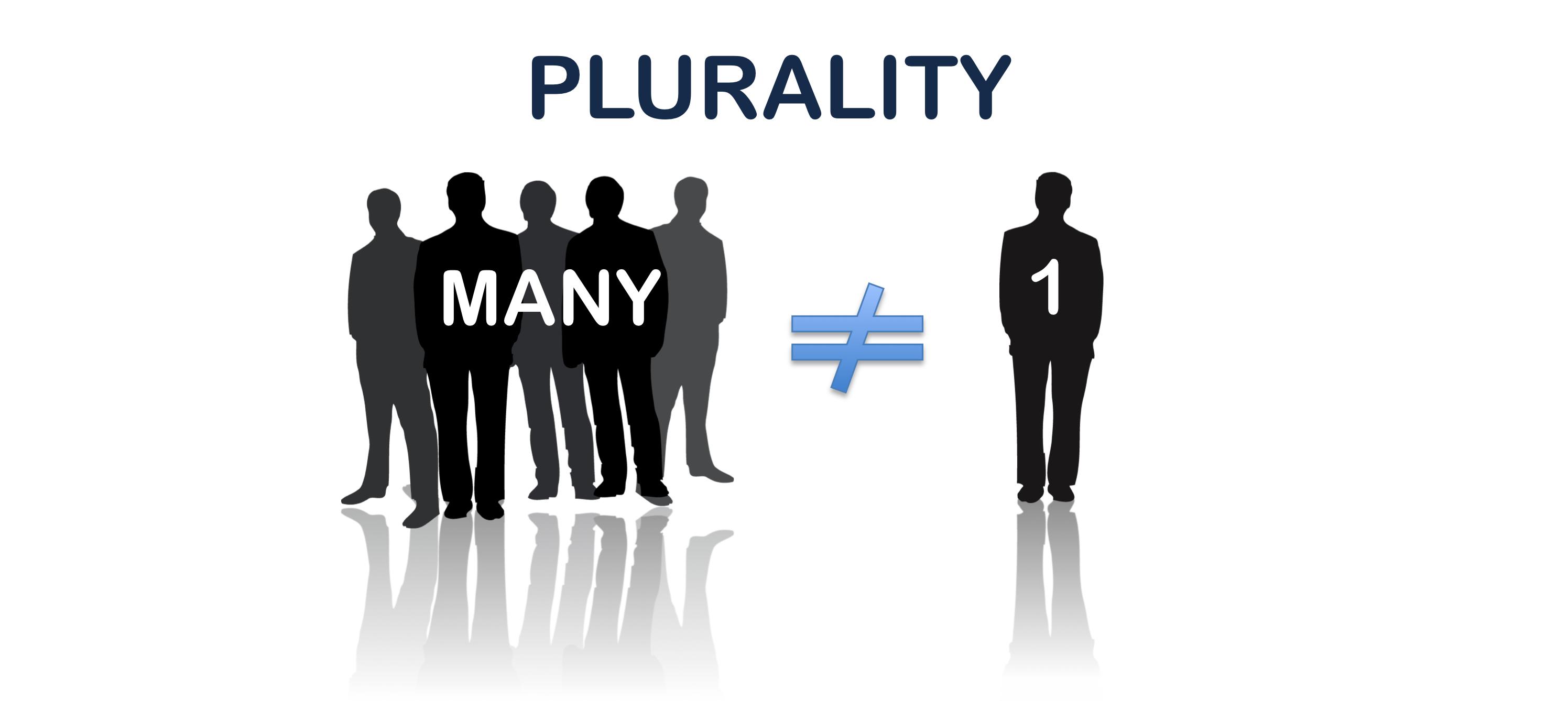 Plurality illustration.