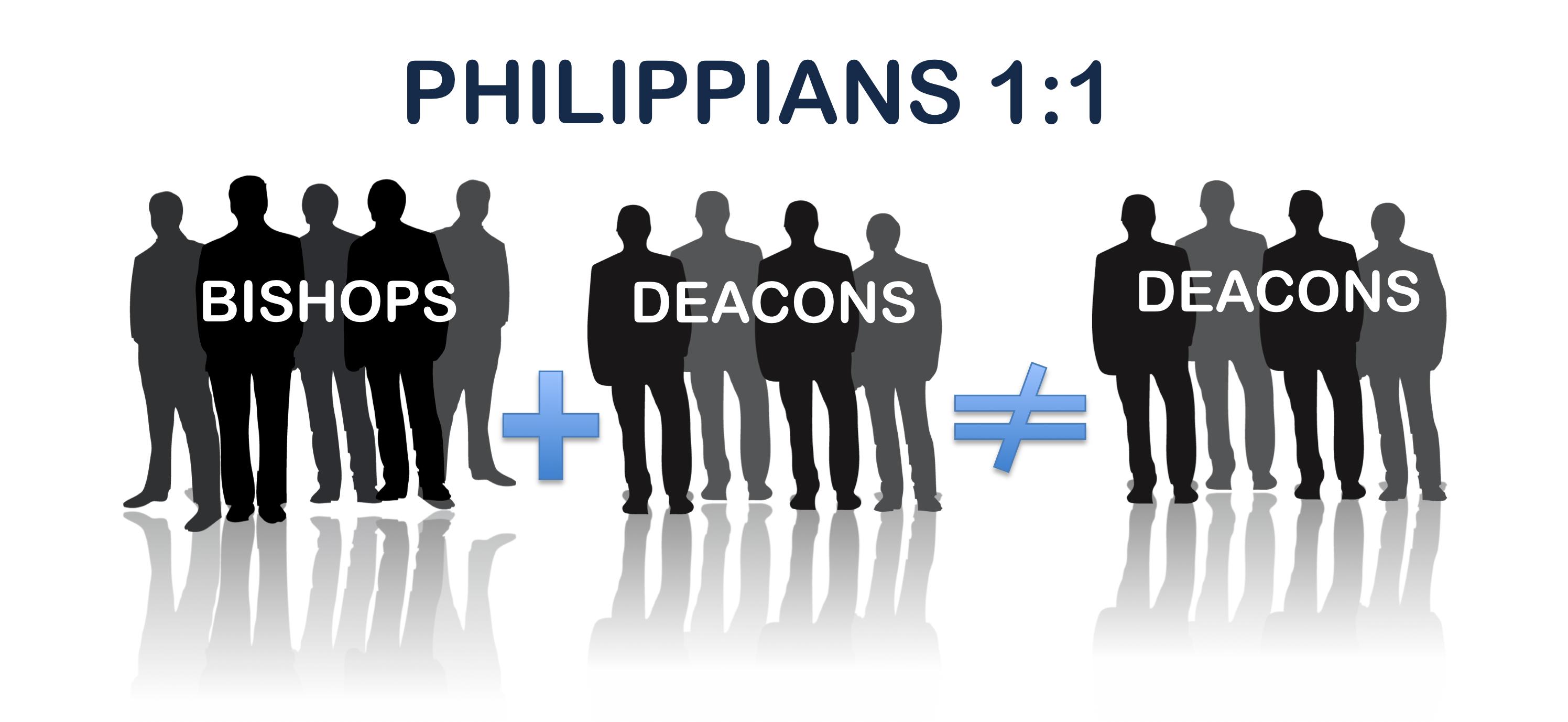 Philippians 1:1 illustration.