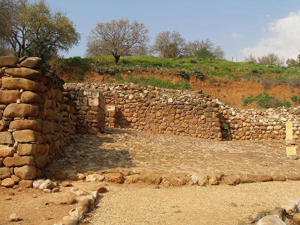 Ruins of ancient Dan.