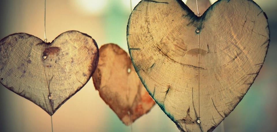 Heart shapes.