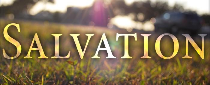 Salvation.