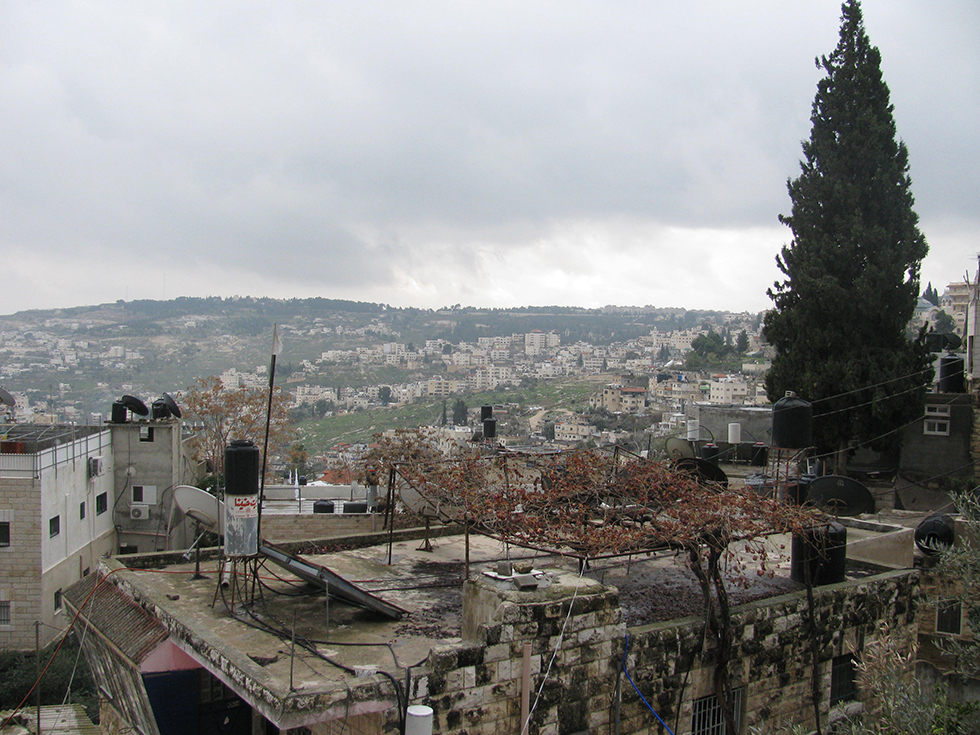 Old Homes in the Valley of Hinnom